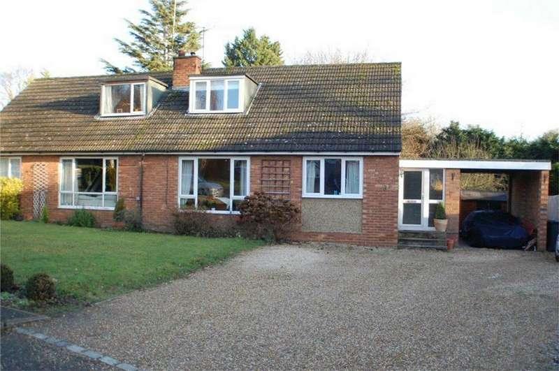 3 Bedrooms Semi Detached Bungalow for sale in Hillside Way, WELWYN, Hertfordshire