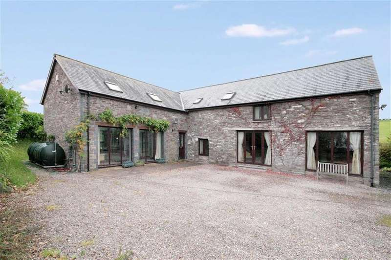 5 Bedrooms Barn Conversion Character Property for sale in Llanddew, Llanddew, Brecon, Powys