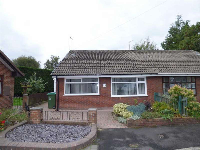 2 Bedrooms Semi Detached Bungalow for sale in Holly Bank, Royton, Oldham, OL2