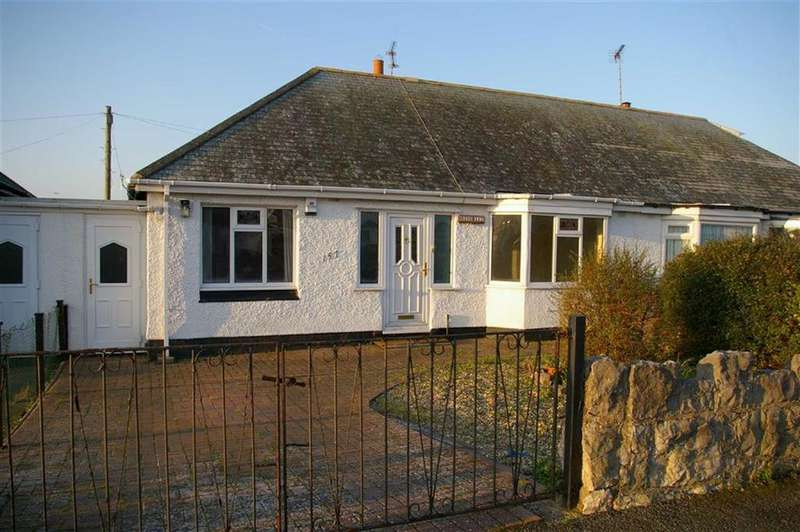 2 Bedrooms Semi Detached Bungalow for sale in Penrhyn Avenue, Rhos On Sea, Colwyn Bay
