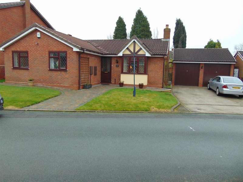 3 Bedrooms Detached Bungalow for sale in Diana Close, Upper Stonnall