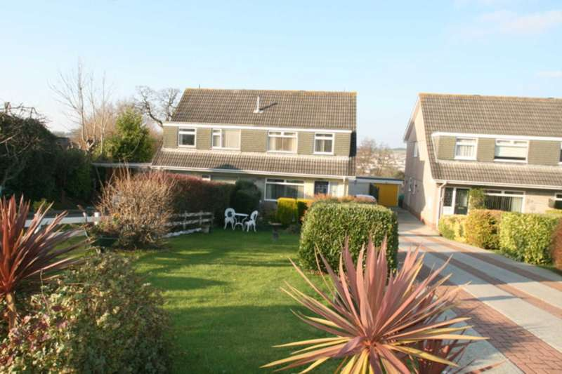 4 Bedrooms Semi Detached House for sale in Grantham Close, Plympton
