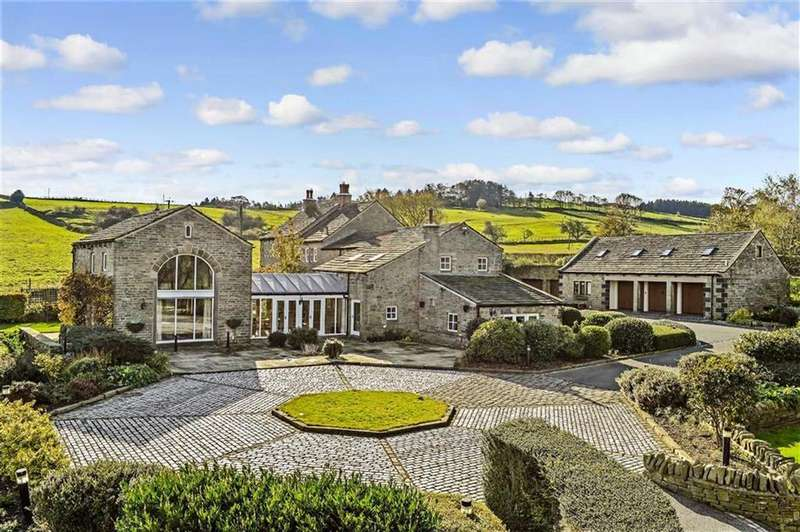 5 Bedrooms Detached House for sale in Moor Lane, Netherthong, Between Holmfirth And Honley, HD9