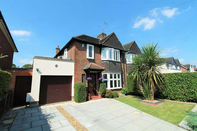 3 Bedrooms Semi Detached House for sale in Endymion Road, Hatfield