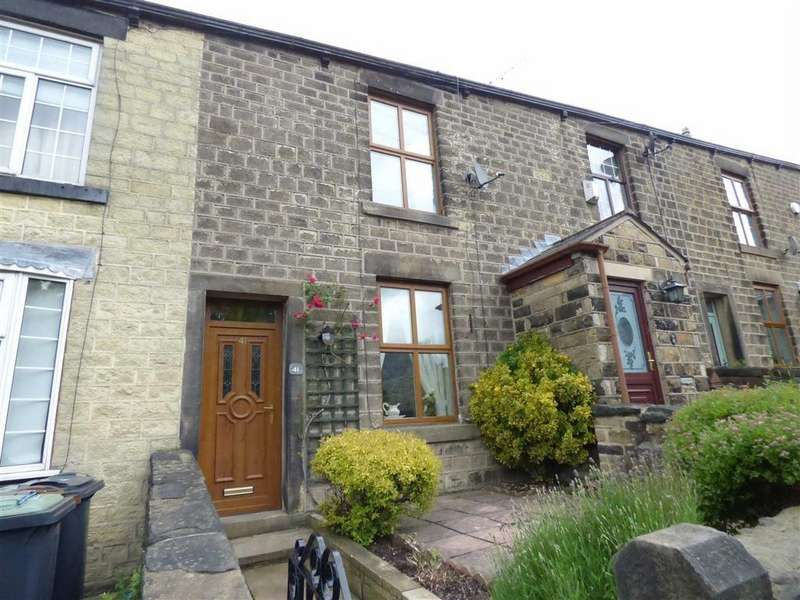 2 Bedrooms Terraced House for sale in Old Road, Tintwistle, Glossop, Derbyshire, SK13