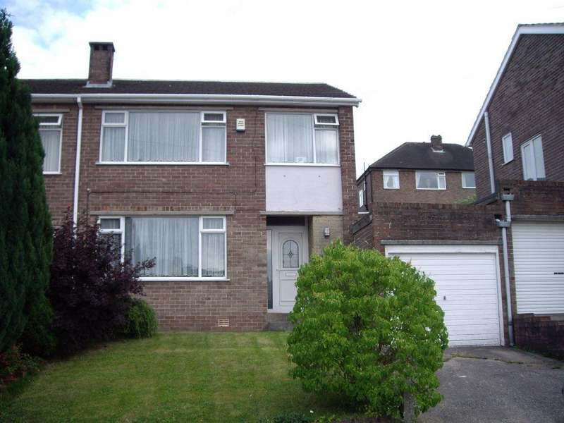 3 Bedrooms Semi Detached House for rent in Barnfield Close, Crosspool, Sheffield, S10 5TF