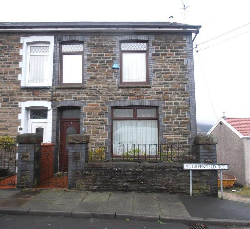 3 Bedrooms End Of Terrace House for sale in Greenfield Terrace, Cwmbach