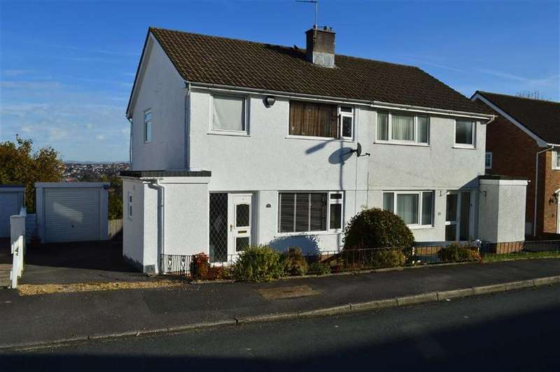 3 Bedrooms Semi Detached House for sale in Downleaze, Swansea, SA2