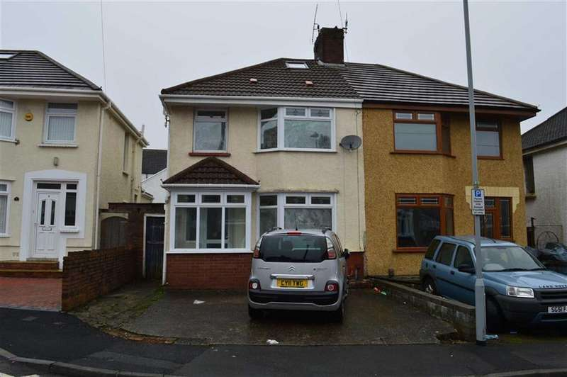 3 Bedrooms Semi Detached House for sale in Siloh Crescent, Swansea, SA1