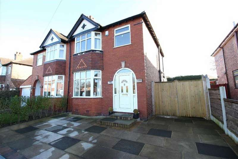 3 Bedrooms Semi Detached House for sale in Crowley Road, Timperley