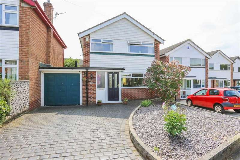 3 Bedrooms Link Detached House for sale in Wood Lane, Marple, Cheshire