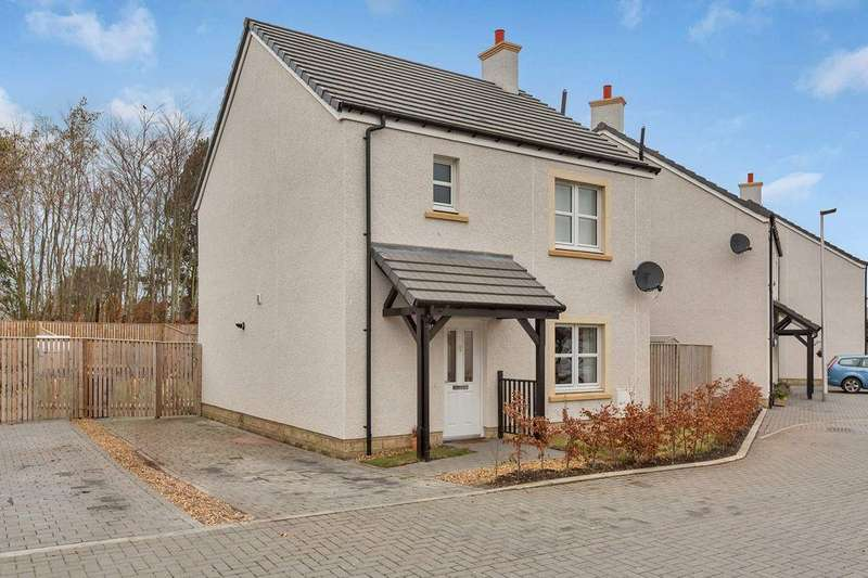 3 Bedrooms Detached House for sale in 18 Thorny Crook Gardens, Dalkeith, EH22 2RF