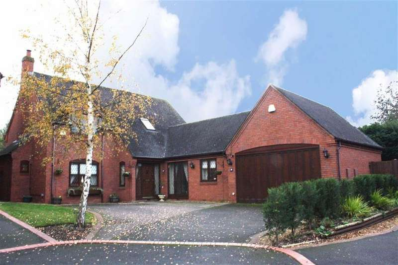 4 Bedrooms Detached House for sale in Field Farm Drive, Edingale, Staffordshire