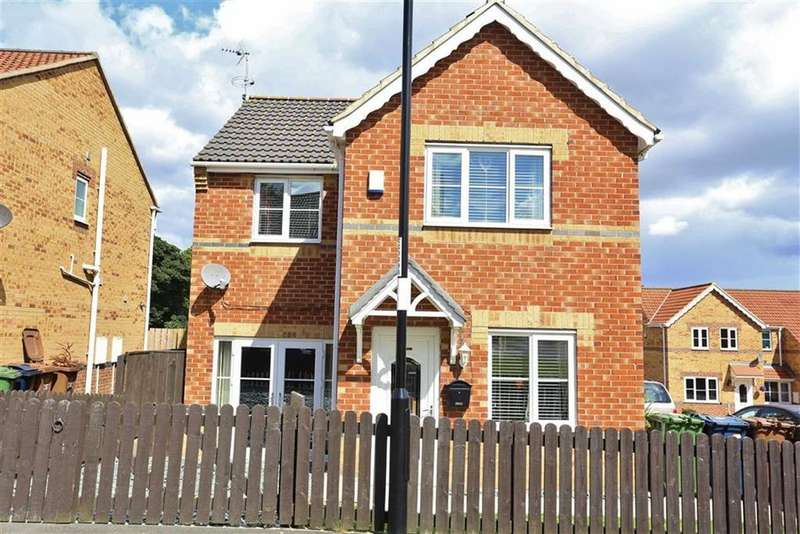 3 Bedrooms Detached House for sale in Hemsby Close, Havelock Park, Sunderland, SR4
