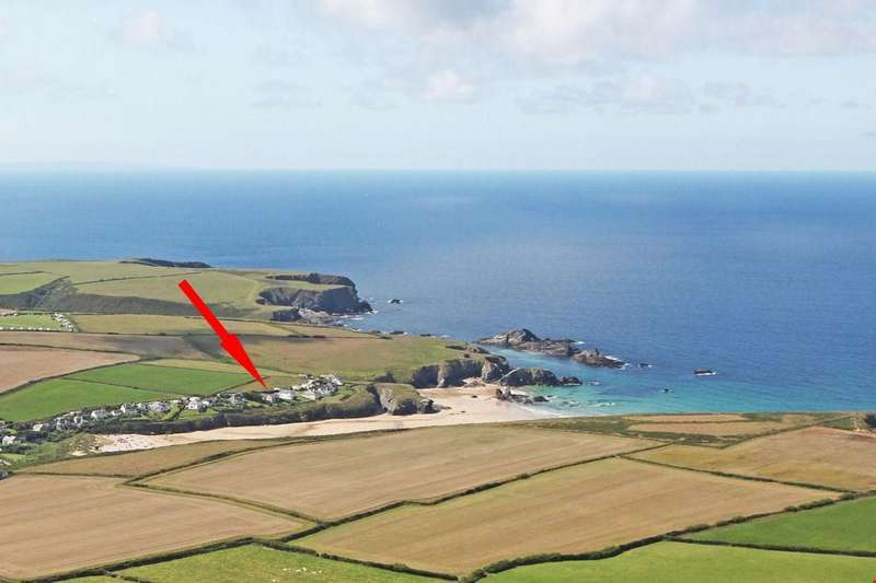 6 Bedrooms Detached House for sale in Porthcothan Bay, Nr. Padstow, North Cornwall, PL28