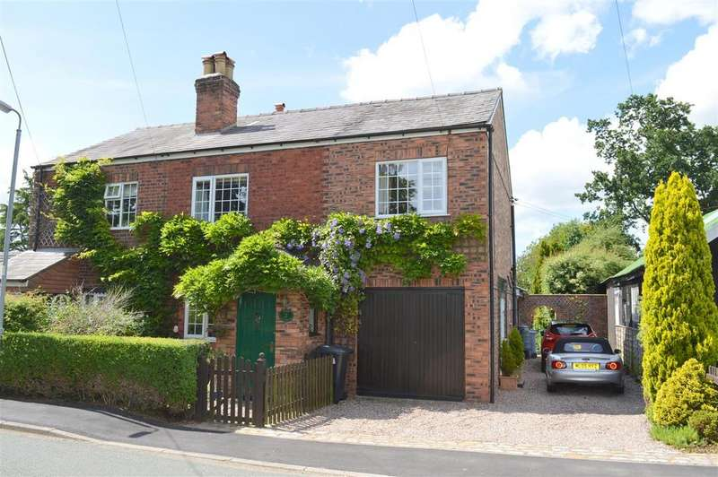 3 Bedrooms Semi Detached House for sale in Moss Cottage, Pickmere