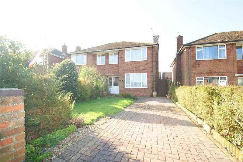 3 Bedrooms Semi Detached House for sale in Hatherell Road, Radford Semele, Leamington Spa