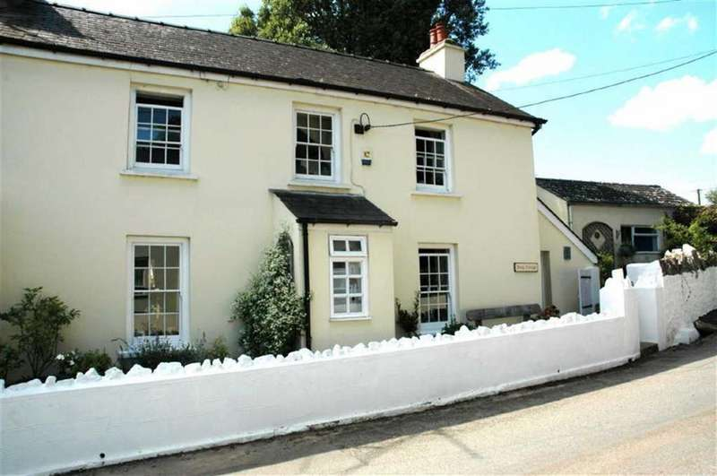 3 Bedrooms Cottage House for sale in Twig Cottage, St Florence, Tenby, Pembrokeshire, SA70