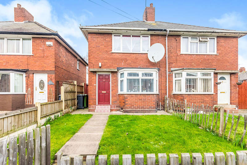2 Bedrooms Semi Detached House for sale in Broadwaters Road, Wednesbury, WS10