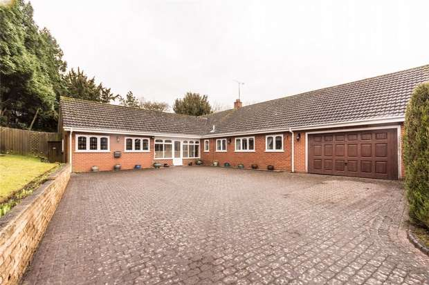 3 Bedrooms Detached Bungalow for sale in Upper Way, Upper Longdon, Rugeley, Staffordshire