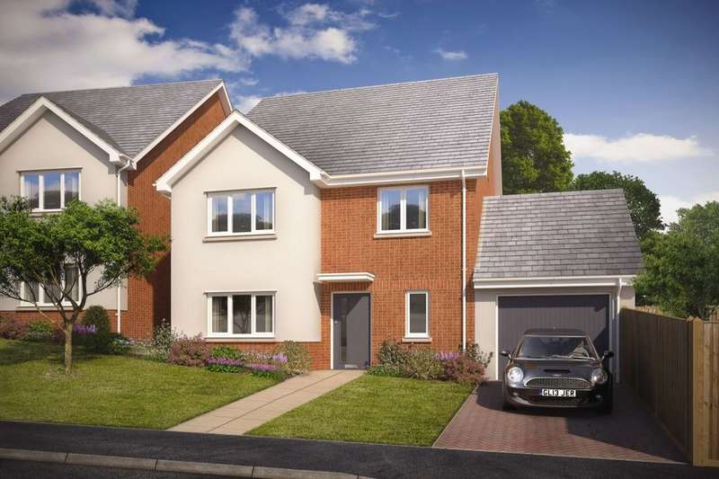 4 Bedrooms Detached House for sale in The Walmer Saxon Way, Kingsteignton, Newton Abbot, TQ12
