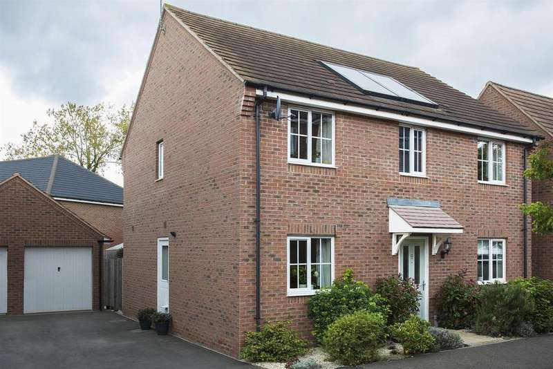 4 Bedrooms Detached House for sale in Cable Crescent, Woburn Sands, Milton Keynes