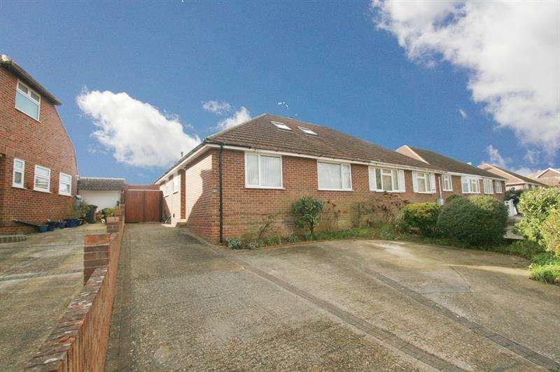 4 Bedrooms Semi Detached Bungalow for sale in Scratchface Lane, Bedhampton, Havant