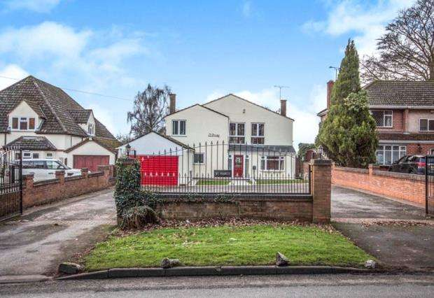 5 Bedrooms Detached House for sale in Tamworth Road, Keresley End, Coventry, Warwickshire