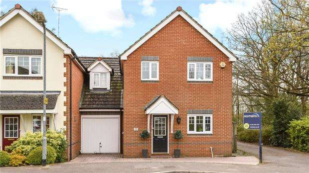 4 Bedrooms Link Detached House for sale in Weaver Moss, Sandhurst, Berkshire