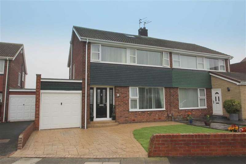 3 Bedrooms Semi Detached House for sale in Thirlmere Avenue, Marden Farm, Tyne Wear, NE30