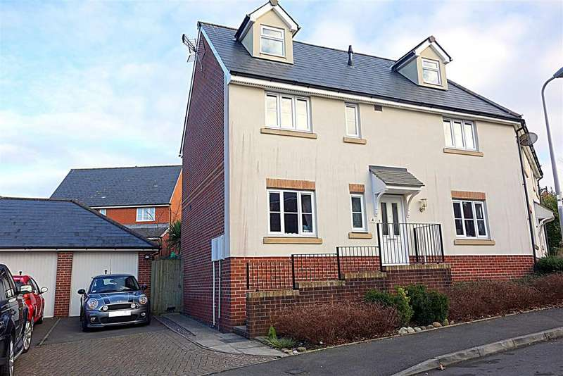 4 Bedrooms Semi Detached House for sale in Rhos Ddu, Regents Gate, Penarth