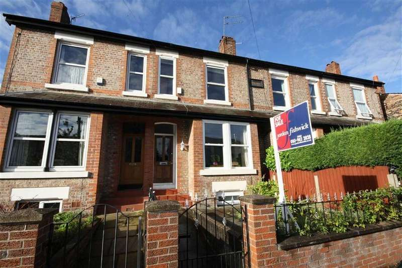 4 Bedrooms Terraced House for sale in Mersey Road, Sale