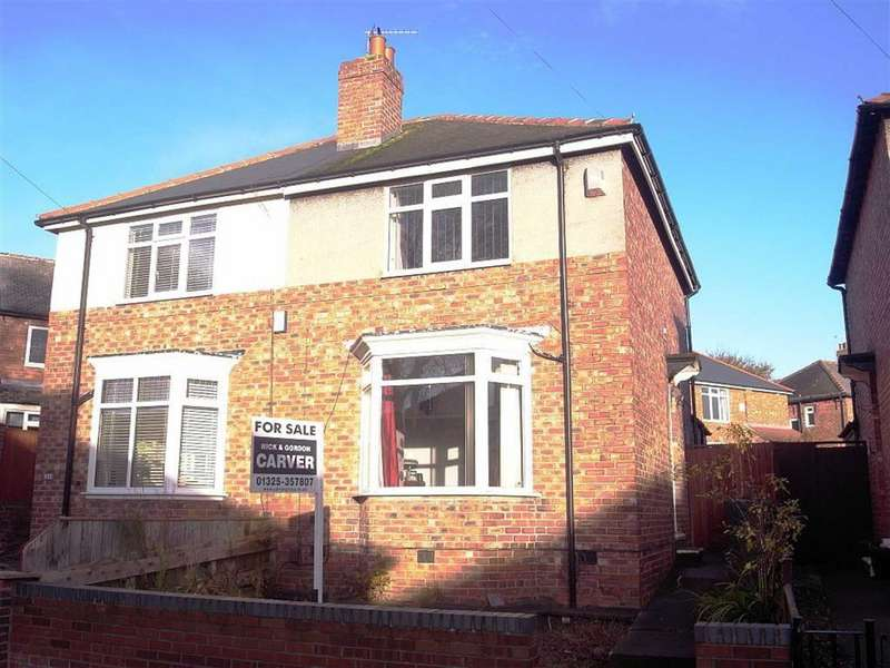 2 Bedrooms Semi Detached House for sale in Middleham Road, Darlington