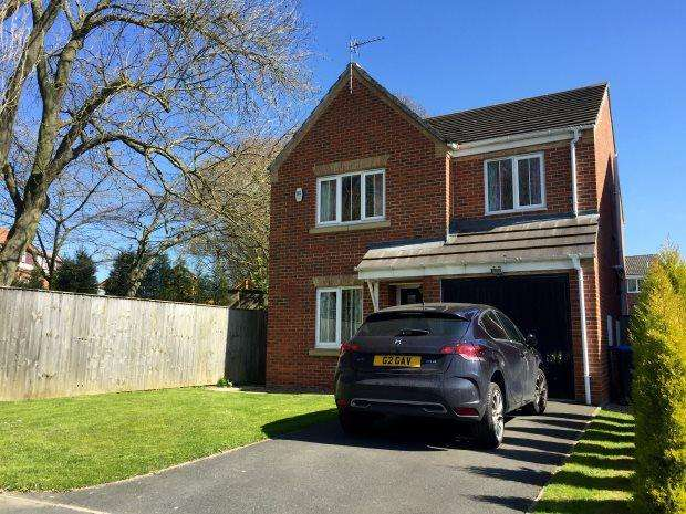 4 Bedrooms Detached House for sale in LAWSON ROAD, BOWBURN, DURHAM CITY : VILLAGES EAST OF