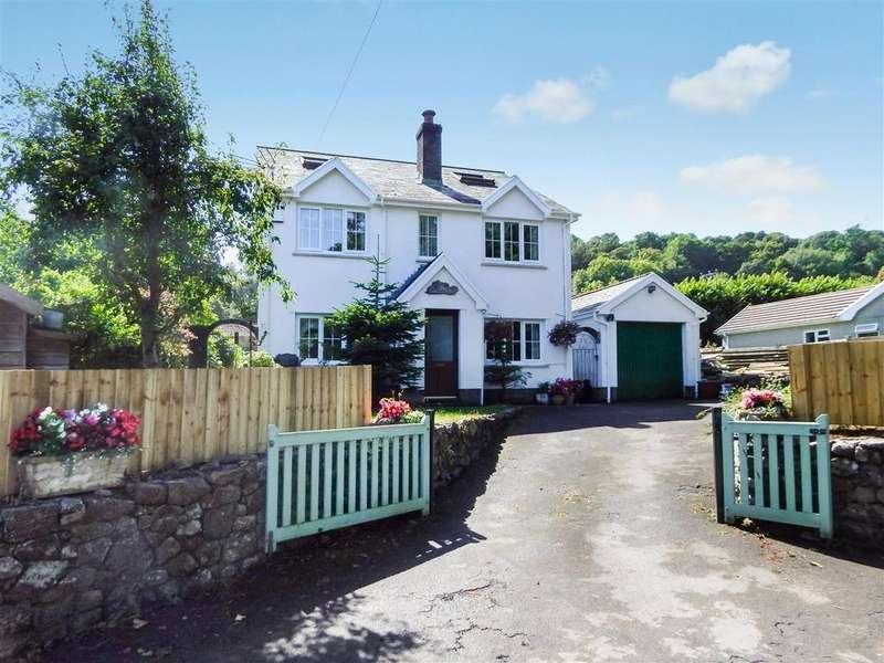 4 Bedrooms Detached House for sale in Oxwich, Gower