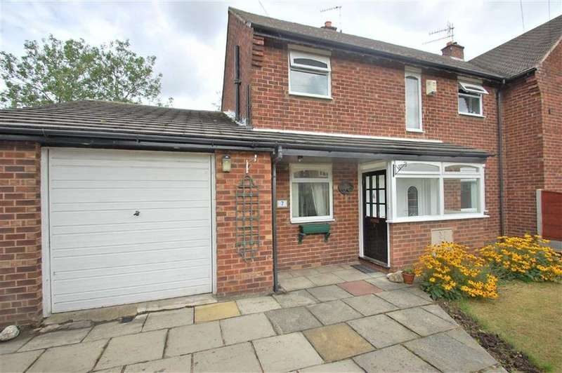 3 Bedrooms Semi Detached House for sale in South Parade, Bramhall, Cheshire