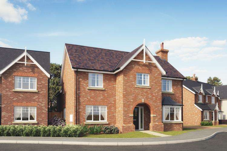 4 Bedrooms Detached House for sale in Plot 37, The Ashford, Church View, Hadnall SY4 3BF