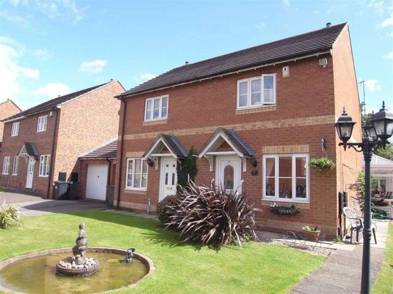 2 Bedrooms Semi Detached House for sale in Brawton Grove, Darlington