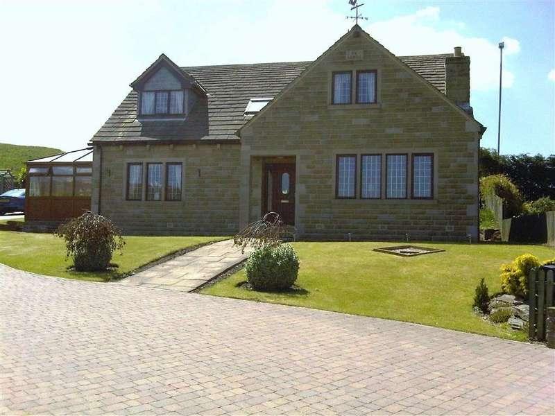 4 Bedrooms Detached House for sale in The Laurels, Lane Head Road, Shepley, Huddersfield, HD8