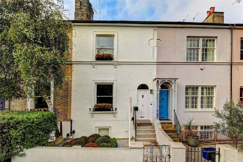4 Bedrooms Terraced House for sale in Petersham Road, Richmond, TW10