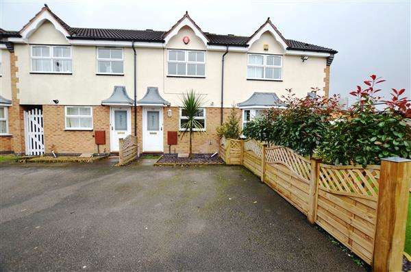 2 Bedrooms Town House for sale in Bowlers Close, Festival Heights, Stoke-On-Trent