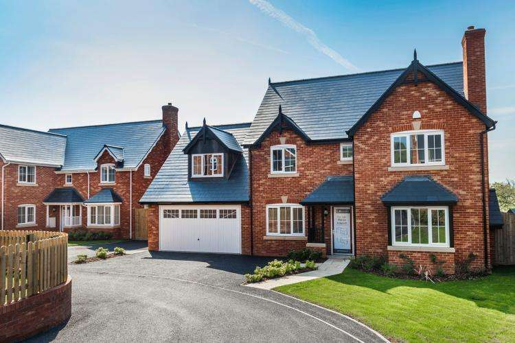 4 Bedrooms Detached House for sale in Plot 22, Elm Tree Park, Llanmynech SY22 6FD