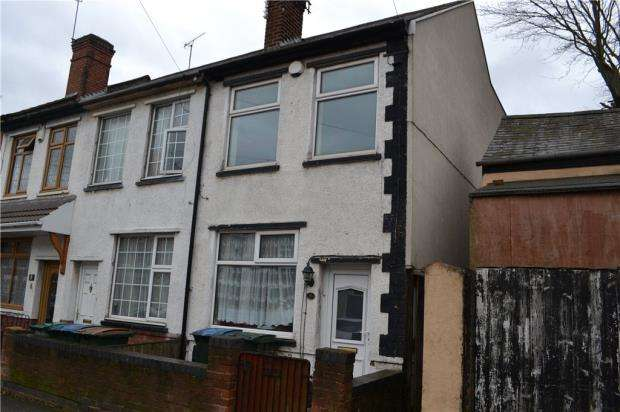 2 Bedrooms End Of Terrace House for sale in St. Lawrence's Road, Foleshill, Coventry, West Midlands