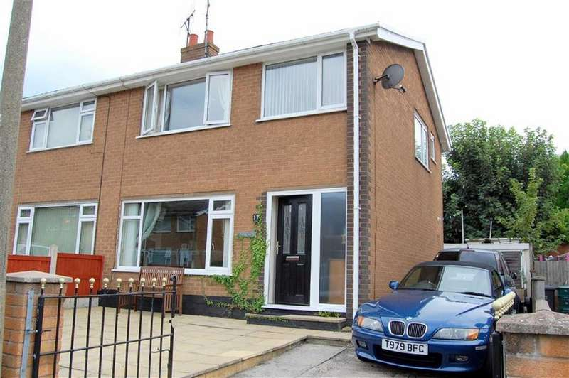 3 Bedrooms Semi Detached House for sale in Tan Y Maes, Llandudno Junction, Conwy