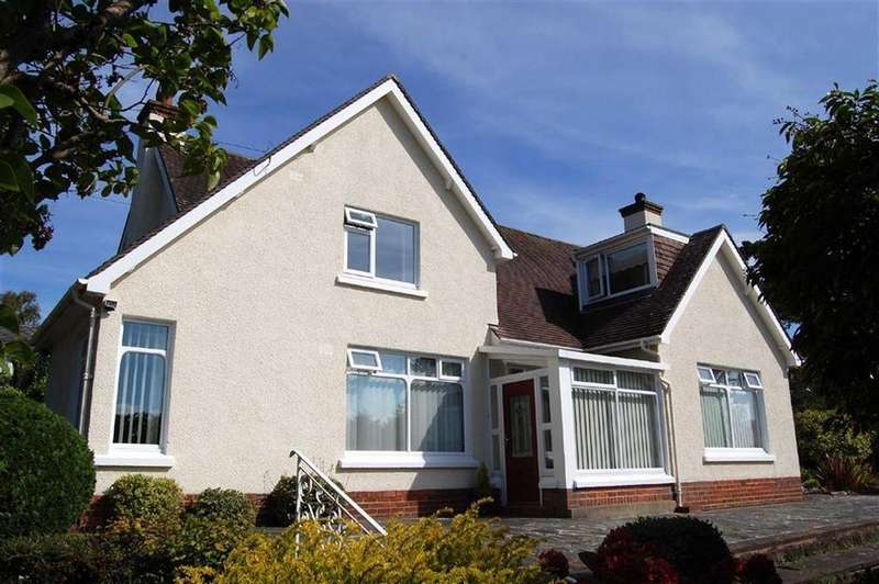 4 Bedrooms Detached Bungalow for sale in Gannock Park, Deganwy, Conwy