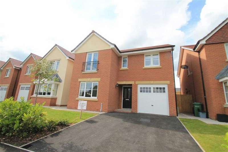 4 Bedrooms Detached House for sale in Depenbech Rise, Malpas