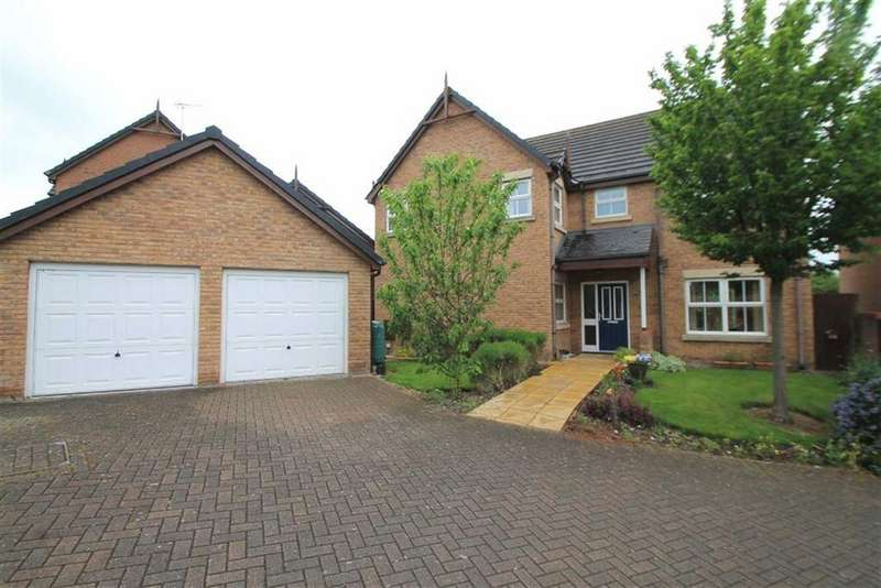 4 Bedrooms Detached House for sale in Summerhill Park, Summerhill, Wrexham