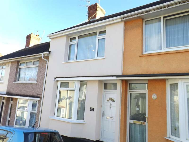 2 Bedrooms Terraced House for sale in Glenmore Avenue, Stoke, Plymouth