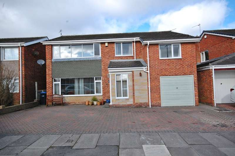 5 Bedrooms Detached House for sale in Hylton Road, Newton Hall, Durham
