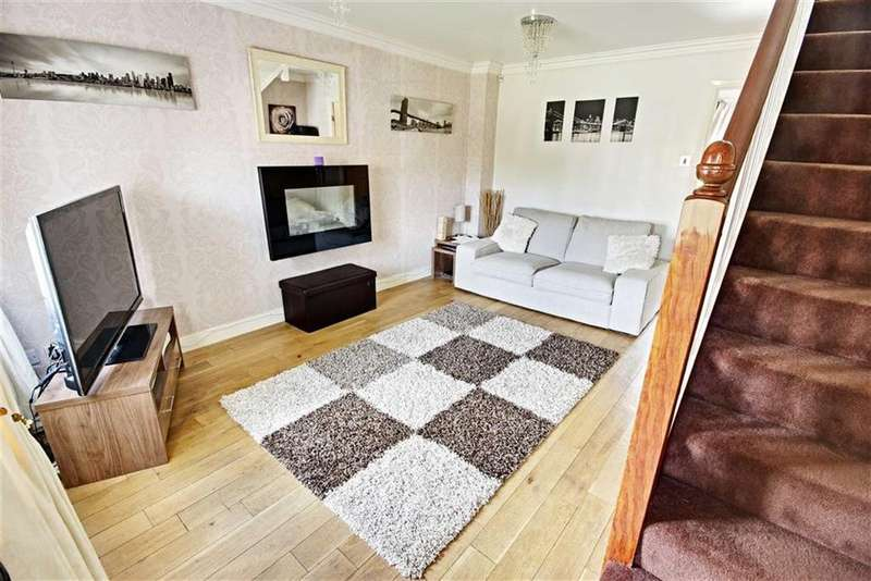 3 Bedrooms Semi Detached House for sale in Langford Drive, Boldon, Tyne And Wear